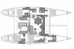 intérieur Lagoon 57