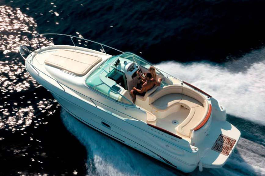 location bateau Leader 805