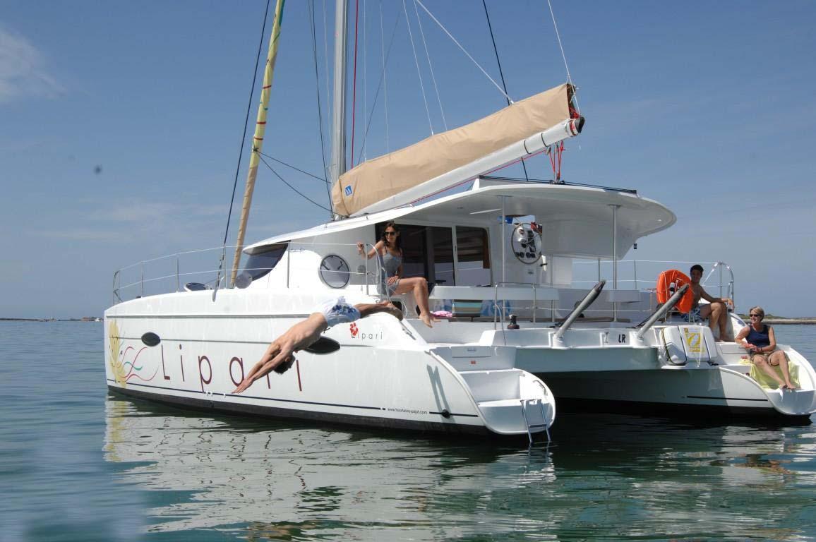 Location bateau  Lipari 41