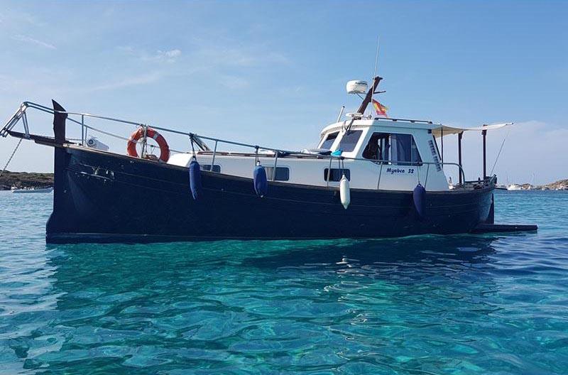 location bateau Myabca 32