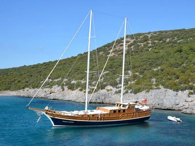 Location bateau  M/S Burc-u Zafer