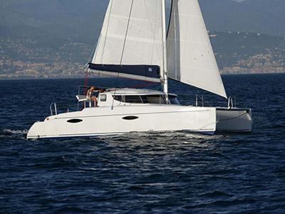 location bateau Mahe 36