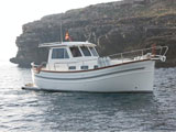 location bateau Menorquin 100