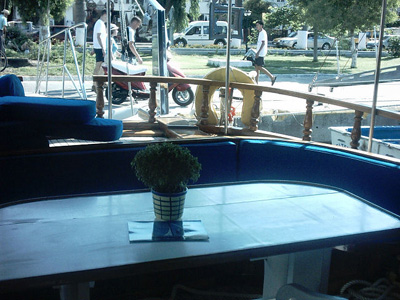 location bateau Merve II