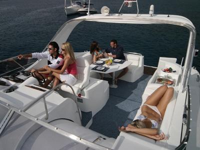 location bateau Mira 43