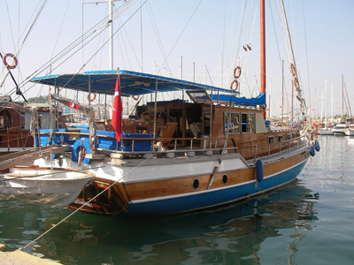 location bateau Miralay Barbaros
