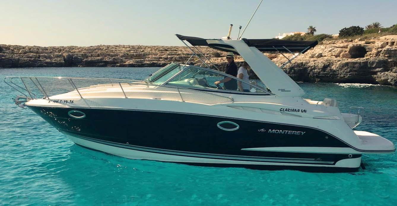 location bateau Monterey 295 CR