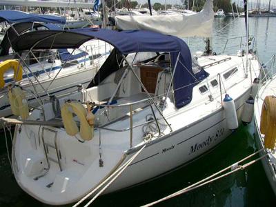 Location bateau  Moody 31s