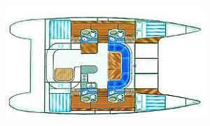 intérieur Nautitech 435