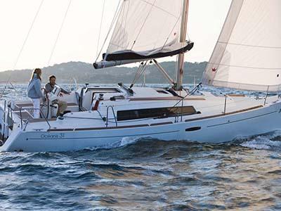 location bateau Oceanis 31