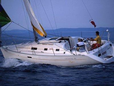 location bateau Oceanis 311
