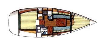 interno Oceanis 311 Clipper