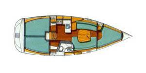 interno Oceanis 331
