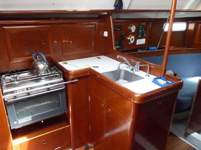 interno Oceanis 331 Clipper Dl