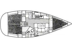 interno Oceanis 351
