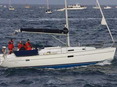 äußere Oceanis 361 Clipper