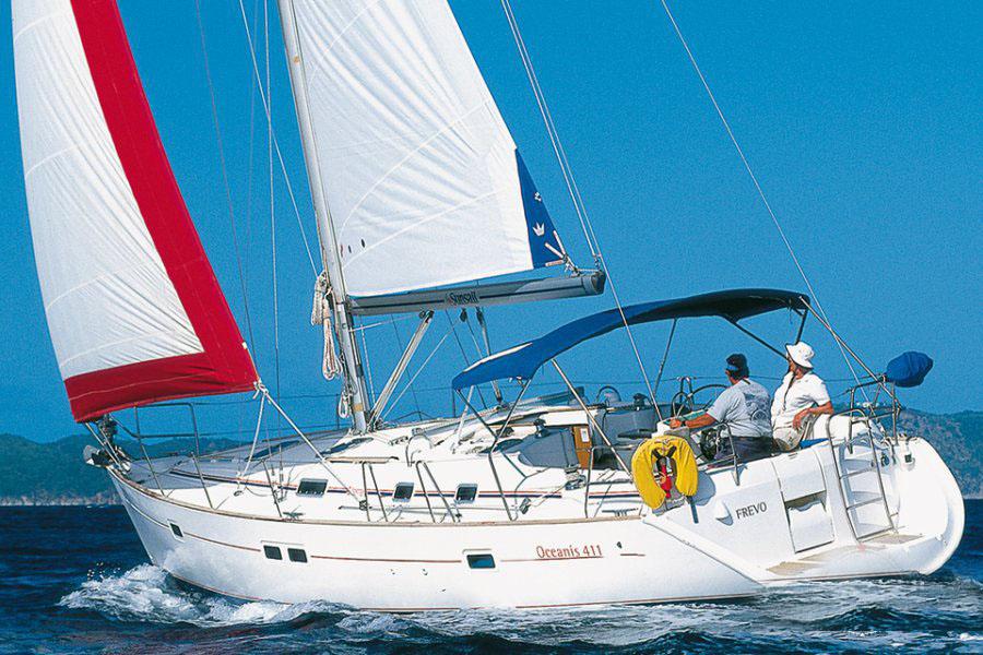 location bateau Oceanis 411