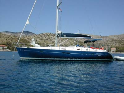 äußere Oceanis 411 Clipper