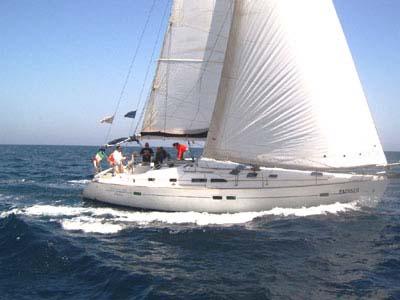 äußere Oceanis 423 Clipper