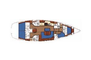innen Oceanis 423 Clipper