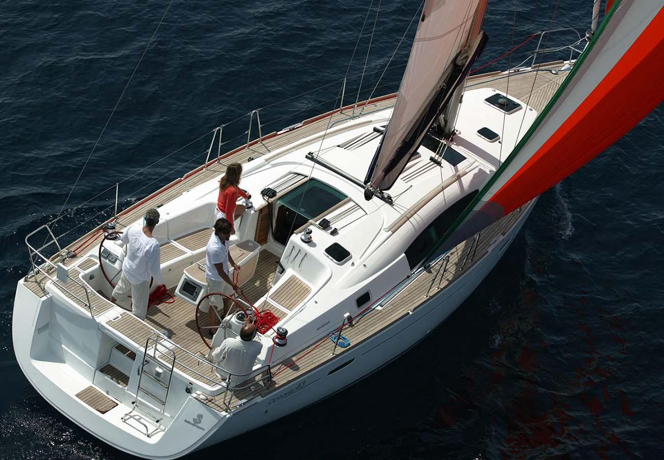 location bateau Oceanis 43
