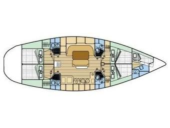 interno Oceanis 510