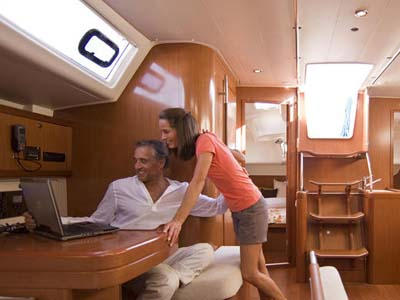 interno Oceanis 54 Family