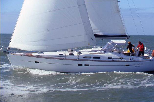 äußere Oceanis Clipper 423