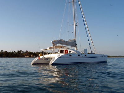 location bateau Outremer 45