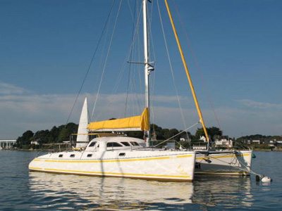 location bateau Outremer 55