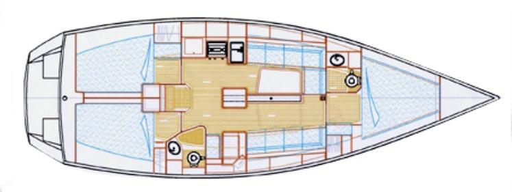 intérieur Ovni 395