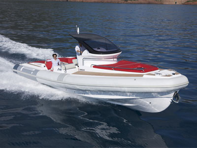 location bateau Pirelli 1100