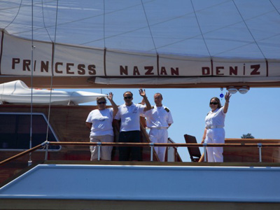 location bateau Prenses N.Deniz