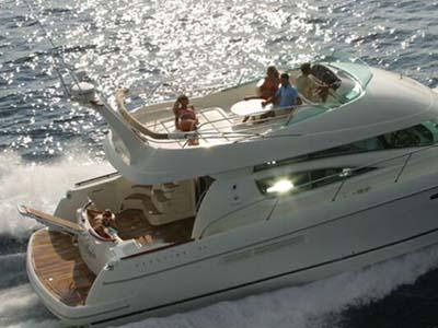 location bateau Prestige 46