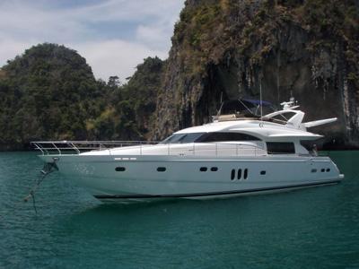 location bateau Princess 23