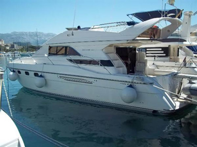 Location bateau  Princess 440 Fly