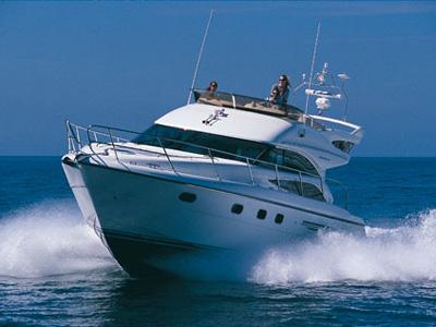 location bateau Princess 45